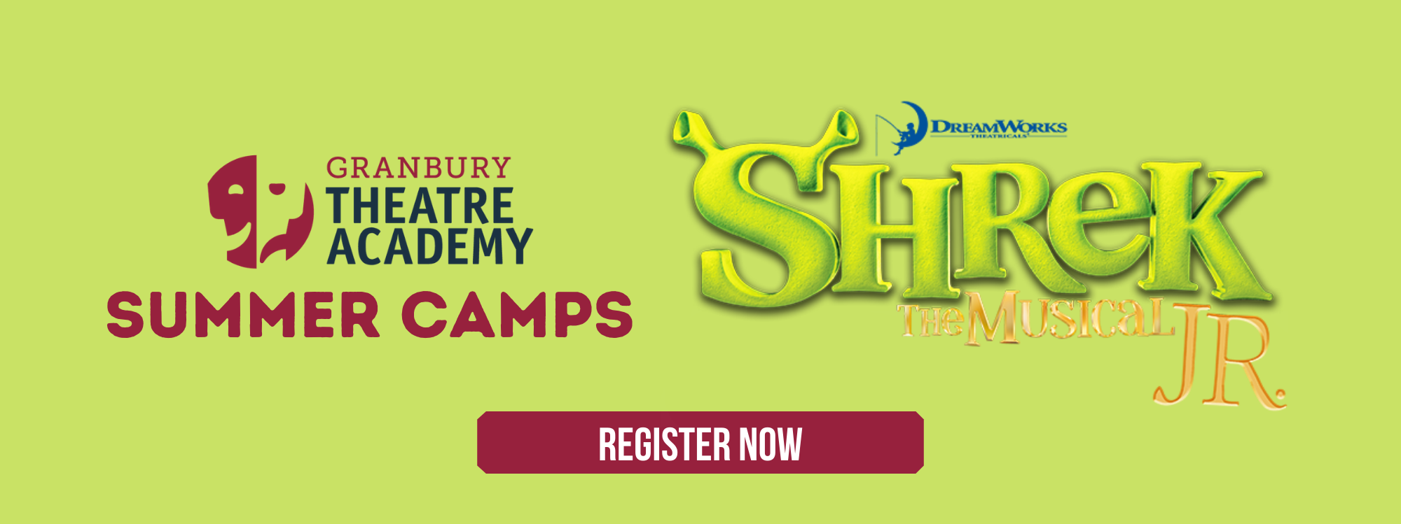 Granbury Theatre Academy Summer Camps